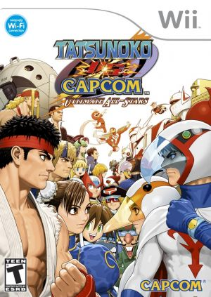 Tatsunoko Vs. Capcom- Ultimate All-Stars ROM